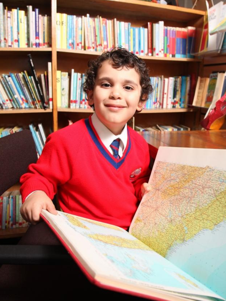 Boy becomes member of exclusive genius society… at FOUR years old!